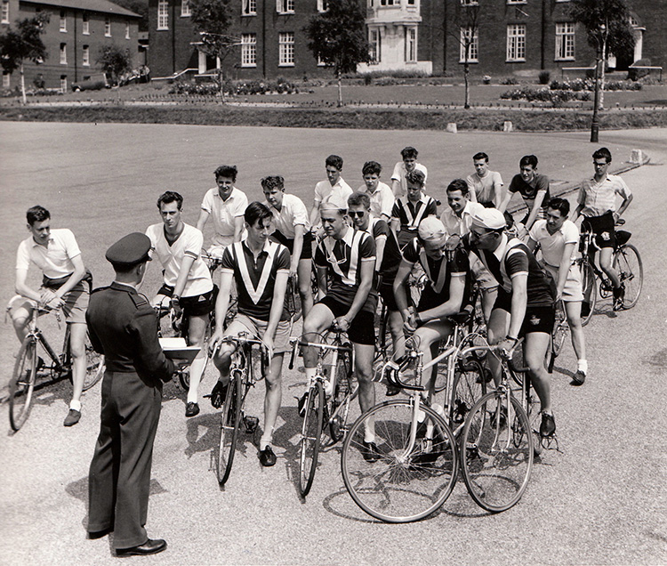The Apprentice wheelers on two wheels - cycling club